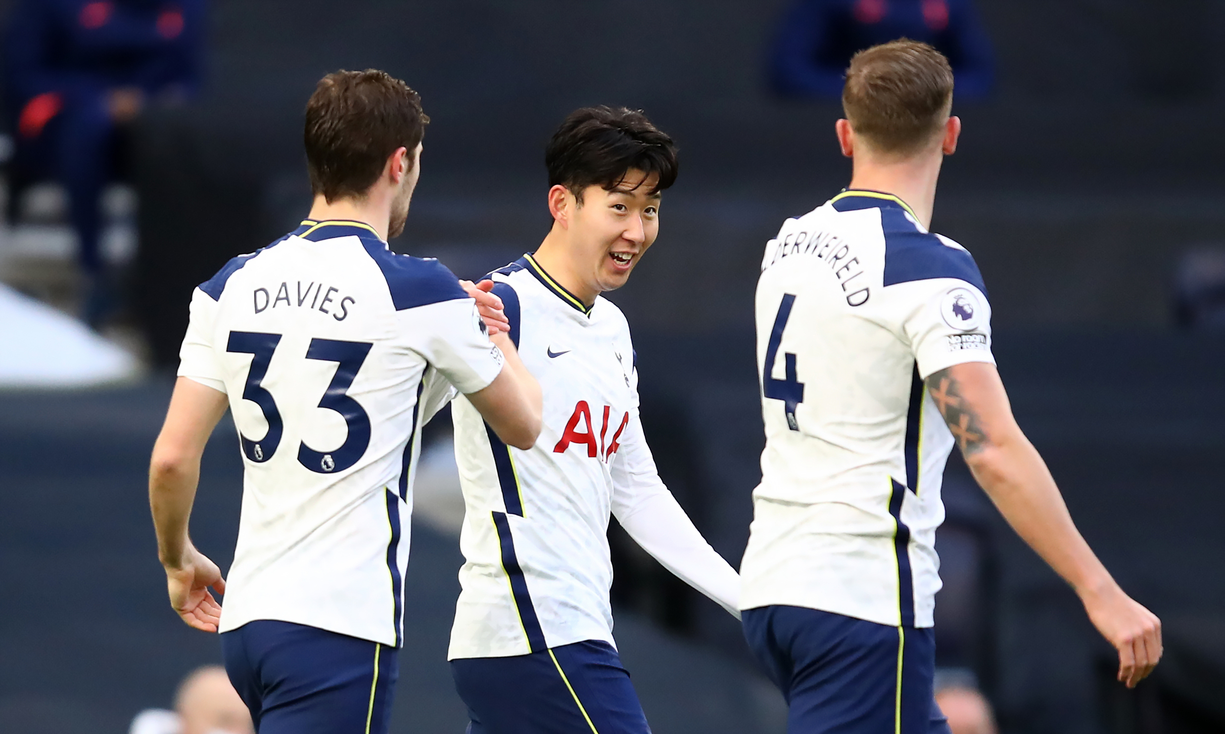 Faltering Tottenham seeking to restore their good run of form as depicted above. They host Southampton in an English Premier League encounter.