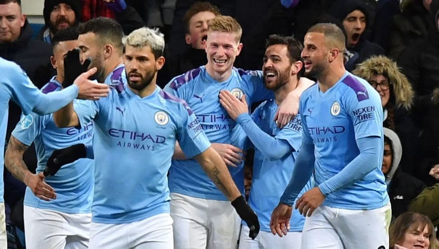 Man City host Chelsea knowing a win will make them English Premier League champions, ahead of their UEFA Champions League final showdown.