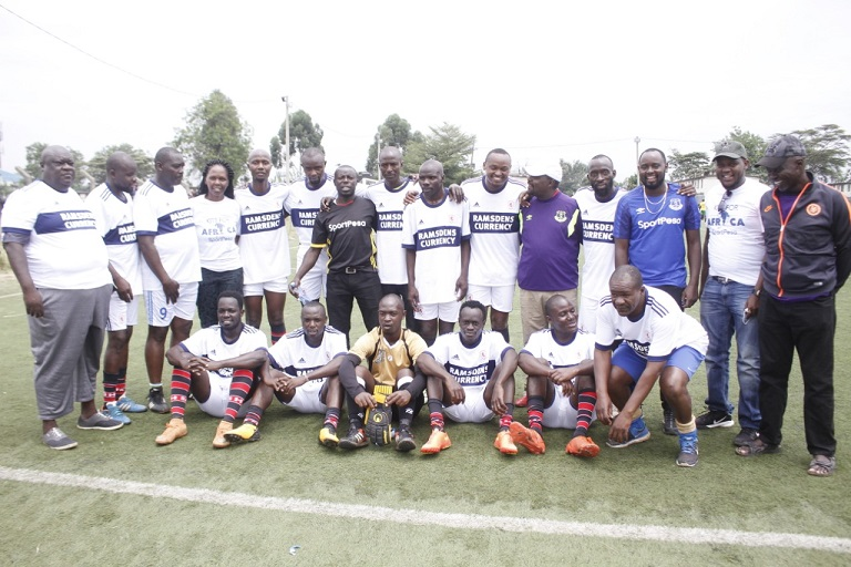 Cruz FC battled to a 3-1 win against Jambo FC over the weekend to see them rise to the top of the Wazee Pamoja League standings.