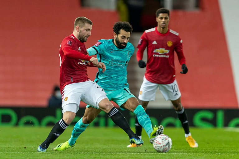 Wounded Man United host a Liverpool side desperately trying to finish in the English Premier League top four.