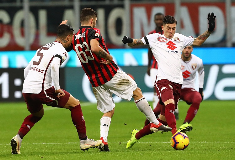 Relegation-threatened Torino host a desperate AC Milan side who are seeking a top-four Serie A finish to guarantee UCL football next season.