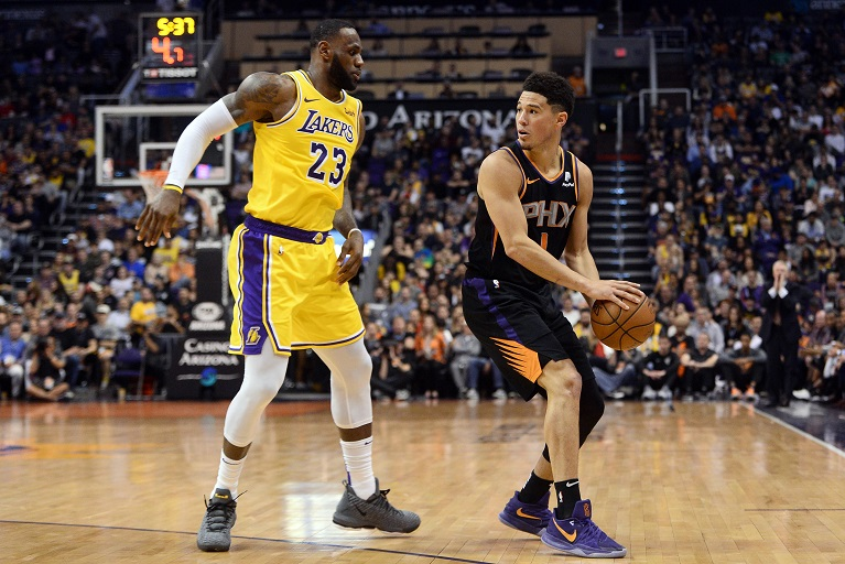 The Suns, inspired by youngsters Booker and Ayton, are making their first post-season appearance since 2010 and face the Denver Nuggets next.