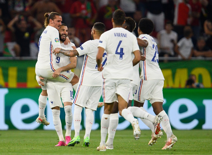 The reigning world champions France are set to face a Switzerland side eager to cause an upset and qualify for the quarters of the Euros.