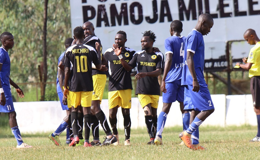 Top tier Kenyan Premier League clubs made light work of their lower league competition to sail into the FKF Cup quarterfinals.