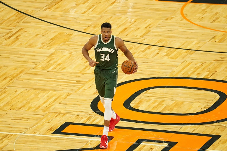 Antetokounmpo joined Michael Jordan, Jerry West, Shaquille O'Neal, Rick Barry and LeBron James with consecutive 40-point NBA Finals performances.