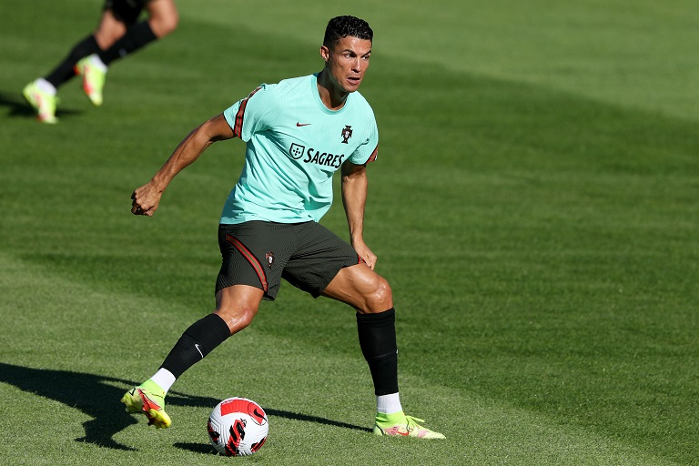 Portugal's Cristiano Ronaldo is looking to become the all-time top international goal scorer when they play Ireland in a World Cup qualifier