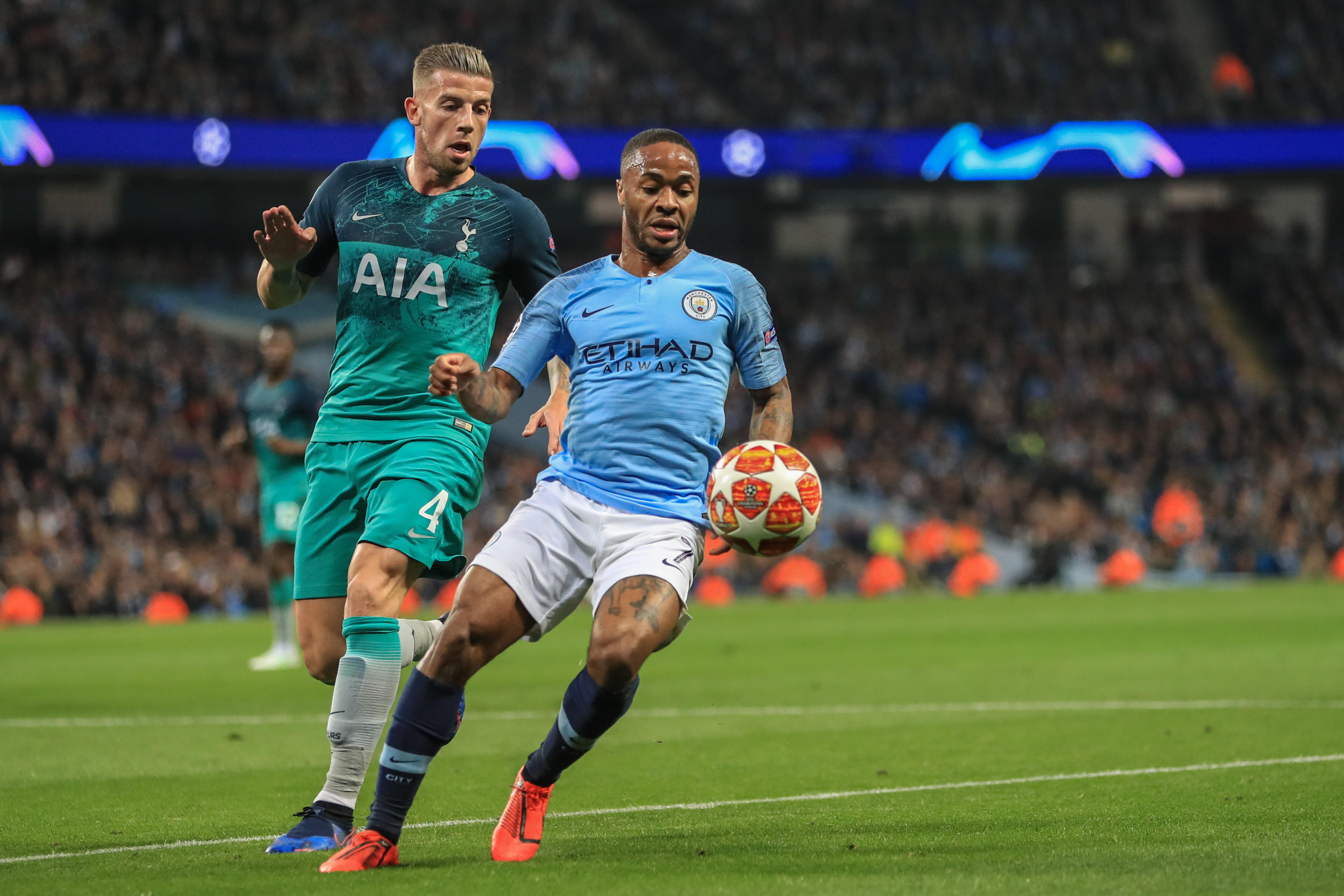 The English Premier League is back with a bang as Tottenham Hotspur prepare to take on champions Manchester City on Sunday