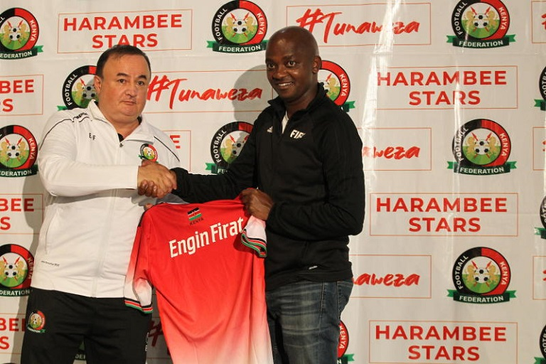 The FKF announced that they have appointed German-Turkish tactician Engin Firat as the new head coach of the Harambee Stars