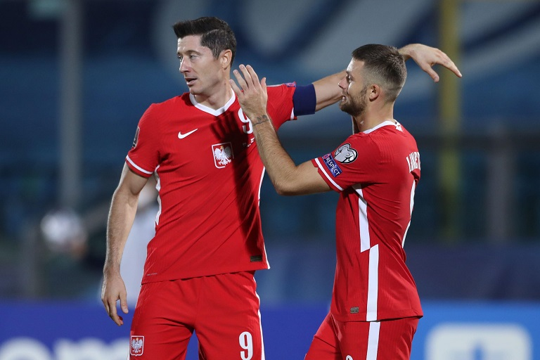 Group I leaders England travel to Poland hoping to maintain their 100 percent win record in the 2022 World Cup Qualifiers.
