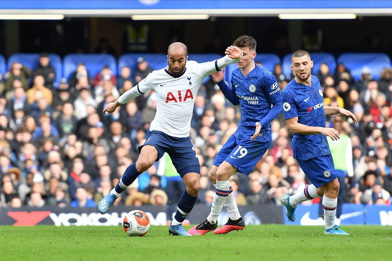 Tottenham host London rivals Chelsea on Sunday in the English Premier League hoping to hand them their first defeat of the season.