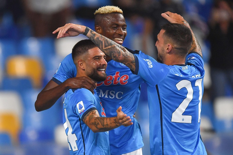 Italian giants Napoli will host Spartak Moscow in a Group C encounter in the 2020/21 UEFA Europa League campaign.