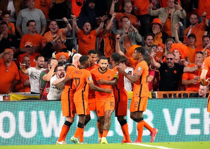 Netherlands host Group G leaders Turkey in one of the headline 2022 World Cup Qualifying fixtures on Tuesday night.