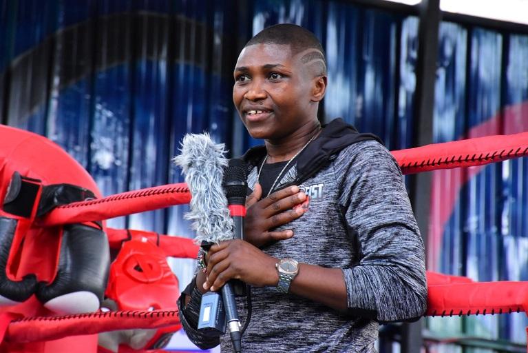 Former WBC Super Bantamweight champion Fatuma Zarika called on girls to pursue boxing at the Umoja Boxing Gym on Wednesday.