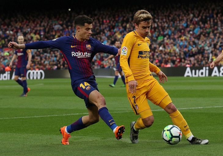 La Liga champions Atletico Madrid are all set for a mouthwatering clash as they host Barcelona on Saturday.